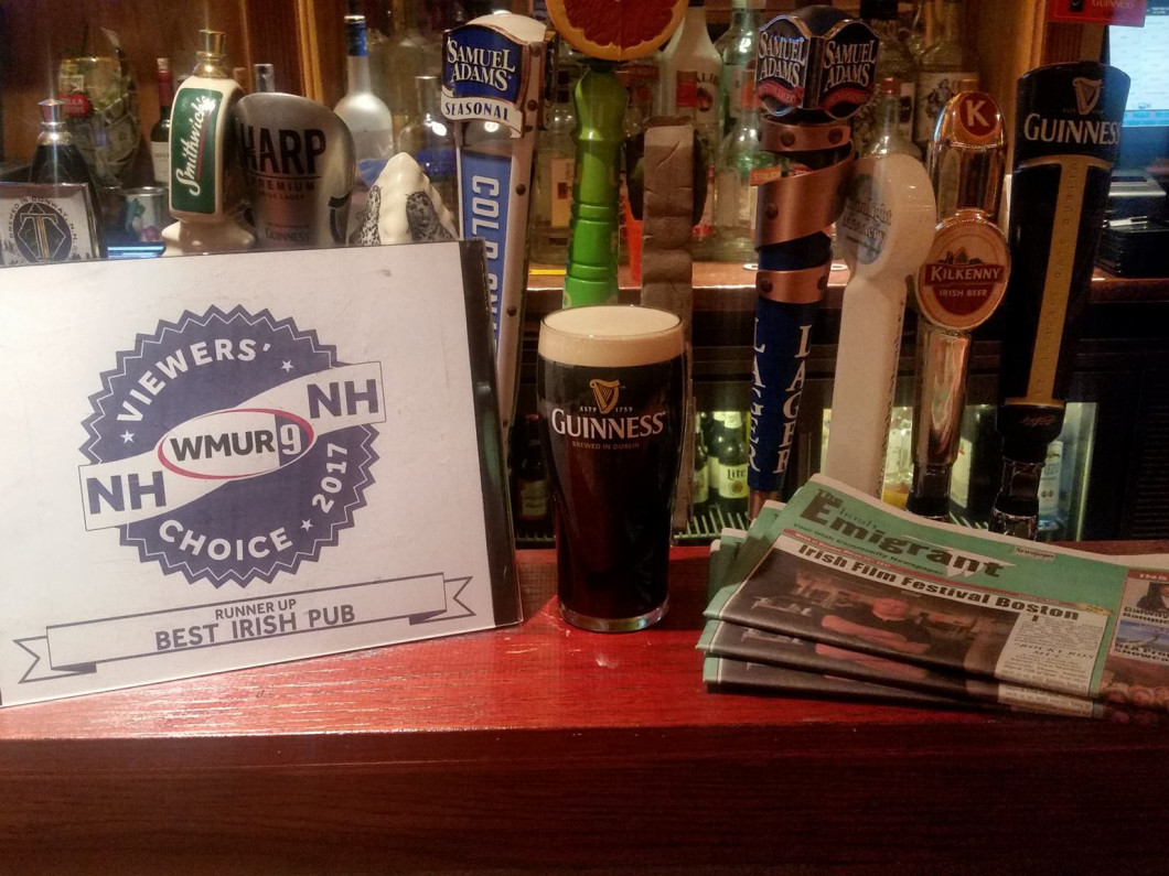 WMUR-Viewers Choice Best Irish Pub